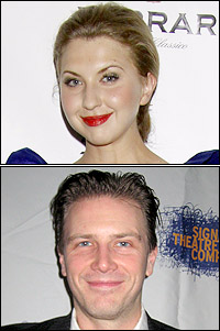 Nina Arianda and Bill Heck