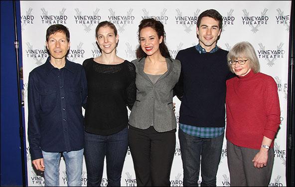 Victor Lodato, Carolyn Cantor, Alexandra Silber, Ben Moss and Polly Pen