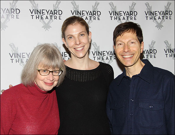 Polly Pen, Carolyn Cantor and Victor Lodato