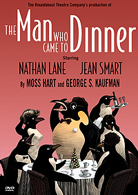 Cover art for <I>The Man Who Came To Dinner</I > DVD.