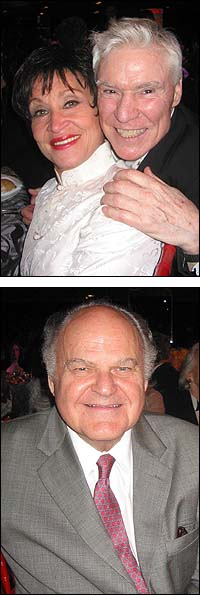 Top: Chita Rivera and Jacques D'Amboise, Bottom: George S. Irving