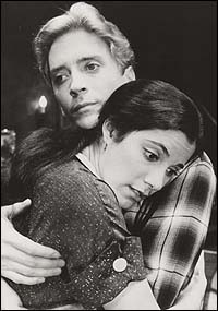 James Hayden and Saundra Santiago in <I>A View From the Bridge</I>