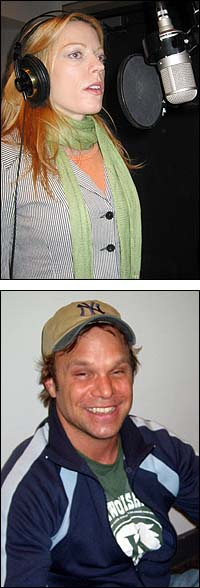 From Top: Sherie Rene Scott and Norbert Leo Butz