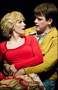 Jenn Colella and Michael Arden.