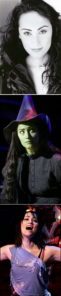 Eden Espinosa in <I>Wicked</I> and <I>Brooklyn