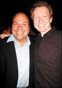 Casey Nicholaw and Bob Martin