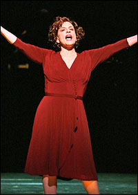 Drama League nominee Patti LuPone in the also-nominated revival of <I>Gypsy</I>.