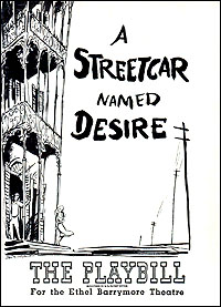 Playbill cover for <I>A Streetcar Named Desire</I> in 1947.