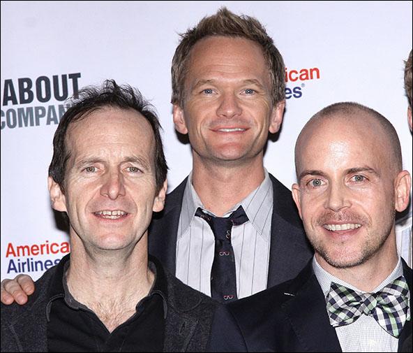 Denis O'Hare, Neil Patrick Harris and Jeffrey Kuhn