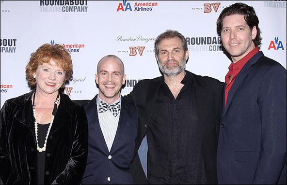 Becky Ann Baker, Jeffrey Kuhn, Marc Kudisch and James Barbour