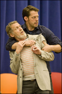 Stephen Spinella and David Furr in rehearsal