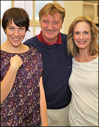 Rebecca Henderson, Larry Bryggman and Lisa Emery