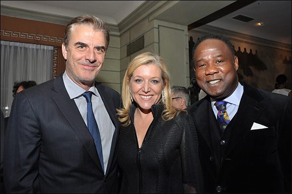 Chris Noth, Mary McCann and Isiah Whitlock Jr.