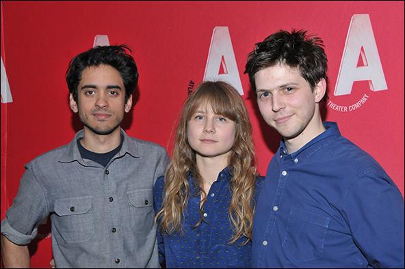Raky Sastri, Annie Baker and Josh Arnoudse