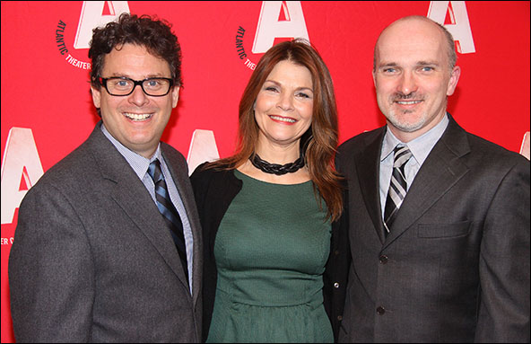 Matthew Silver, Kathryn Erbe and Christian Parker