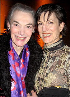 Marian Seldes and Harriet Walter