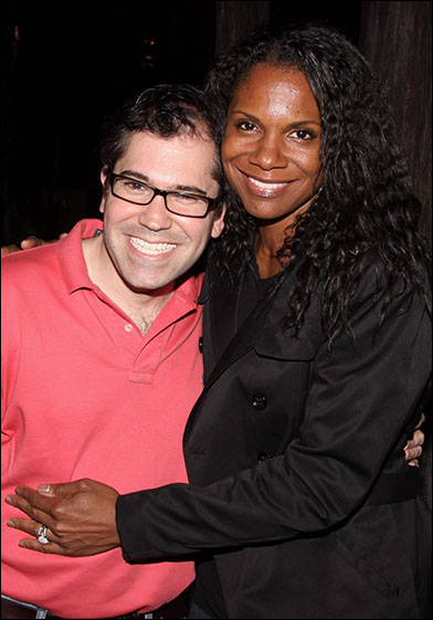 Andy Einhorn and Audra McDonald