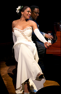 Audra McDonald with Shelton Becton