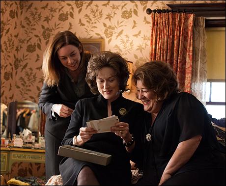 Julianne Nicholson, Meryl Streep and Margo Martindale