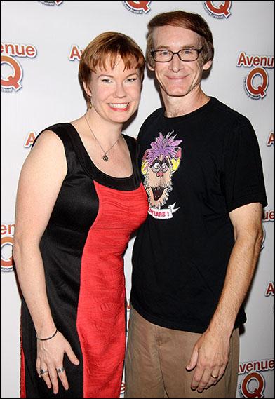 Jennifer Barnhart and Rick Lyon
