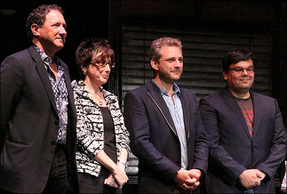 Kevin McCollum, Robyn Goodman, Jeff Marx and Robert Lopez