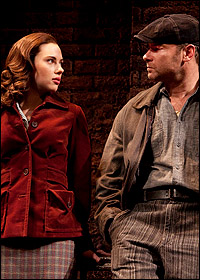 <I>A View From the Bridge</I> stars Scarlett Johansson and Liev Schreiber.