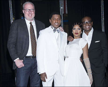 "Steve Bartel, Toni Braxton, Kenny ""Babyface"" Edmonds and L.A. Reid"