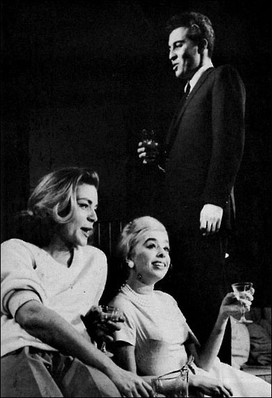 Lauren Bacall, Sarah Marshall and Sydney Chaplin in Goodbye Charlie