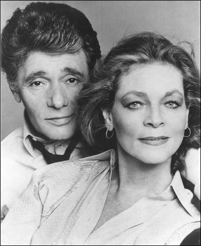 Harry Guardino and Lauren Bacall in Woman of the Year