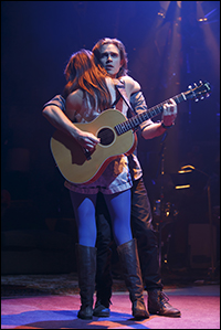 Kyle Riabko and Laura Dreyfuss