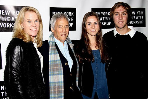 Burt Bacharach and family