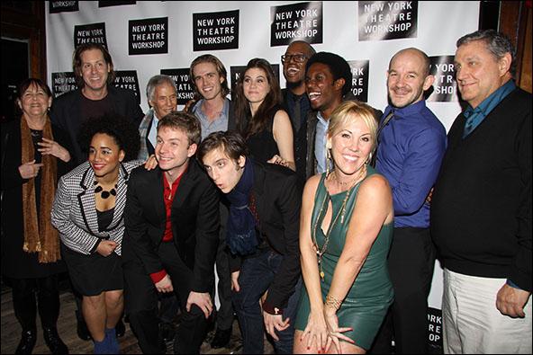 Cast, creative team and producers