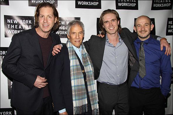 David Lane Seltzer, Burt Bacharach, Kyle Riabko and Steven Hoggett