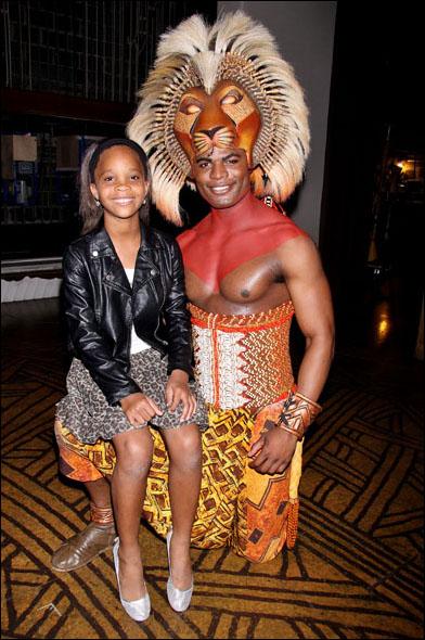 Quvenzhané Wallis and Andile Gumbi