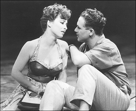 Ann Crumb and Michael Ball in Aspects of Love