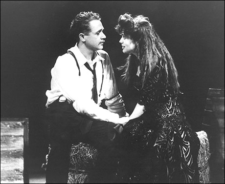 Michael Ball and Kathleen Rowe McAllen in Aspects of Love