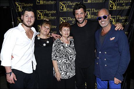Val Chmerkovskiy, Larisa Chmerkovskiy, Sofia Chmerkovskiy, Maksim Chmerkovskiy and Aleksandr Chmerkovskiy
