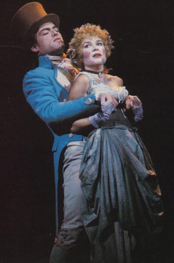 Tom Zemon and Maureen Moore on Broadway