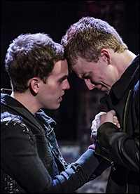 Taylor Trensch and Jason Hite in <i>Bare</i>.