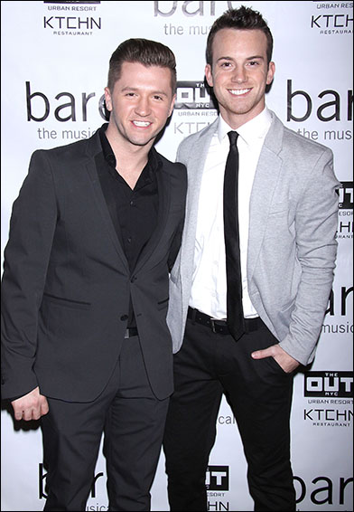 Travis Wall and Dom Palange