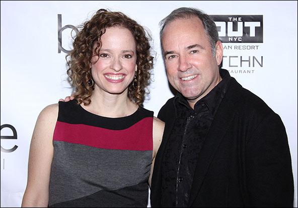 Lynne Shankel and Stephen Flaherty