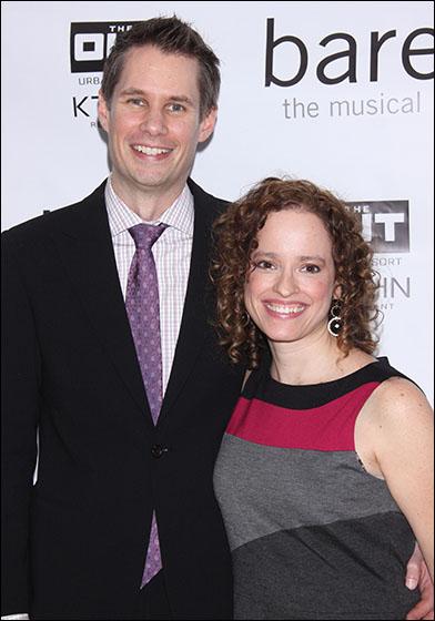 Jon Hartmere and Lynne Shankel
