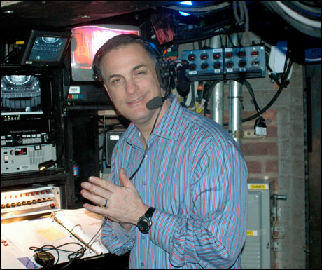 "Michael Passaro, ready to call the show. ""Ladies and Gentlemen, all photographic and recording devices strictly forbidden.  At this time, please turn off all cell phones and pacemakers.  Enjoy the show."""