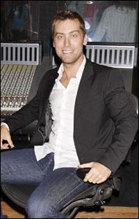 Host Lance Bass