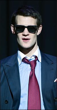 Matt Smith starred in the London premiere