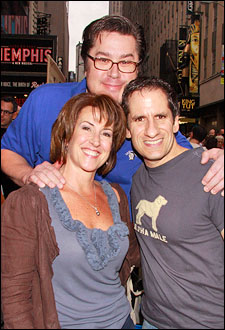 Rebecca Eichenberger, Merwin Foard and Seth Rudetsky
