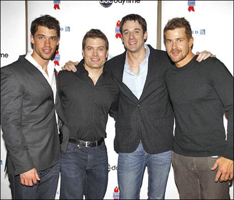David Gregory, Mark Lawson, Tom Degnan and Josh Kelly