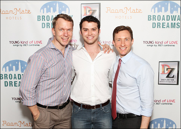 Clear Talent Group's Jamie Harris, BDF alum Greg Kamp and Telsey + Company's Craig Burns