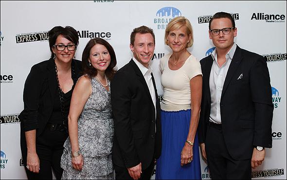 Annette Tanner, Elizabeth Faulkner, Craig Burns, Vicki Le Vine and Adam Sansiveri