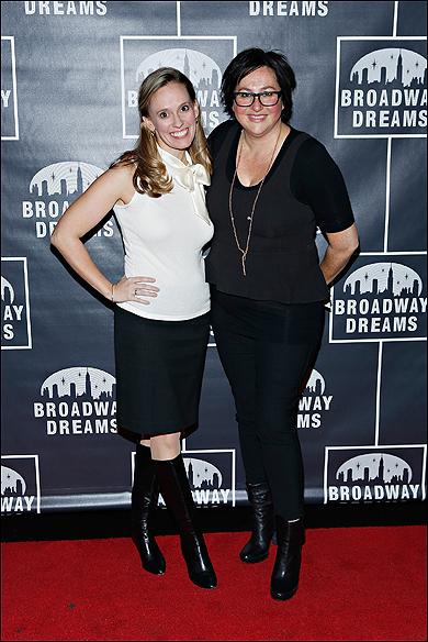 Rachel Hoffman and BDF Executive Director Annette Tanner